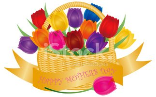 Mothers Day,Basket,Love,Mul...