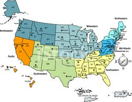 USA Map Outline With State Capitals And Its Territories Stock - Usa maps and capitals
