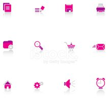 Pink Color,Symbol,House,Ico...