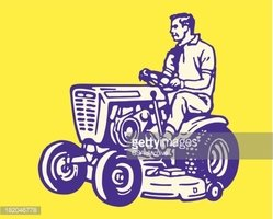 People,Lawn Mower,Tractor,O...