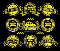 Yellow Taxi,Vibrant Color,B...