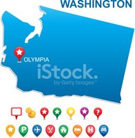 Washington State,Outline,Si...