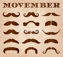 Movember,Facial Hair,Mustac...