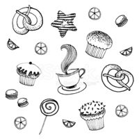 Candy,Drawing - Art Product...