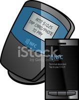 Credit Card,NFC,Isometric,S...