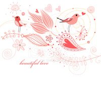 Bird,Love,Backgrounds,Ilust...