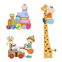 Fun,Baby Carriage,Giraffe,A...