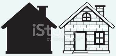 House,Chimney,Stencil,Roof,...