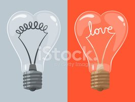 Light Bulb,Love,Shape,Roman...