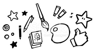 Fun Arts Crafts Clipart Images High Res Premium Images