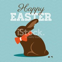 Easter,Rabbit - Animal,Choc...