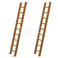Ladder,Wood - Material,Wall...