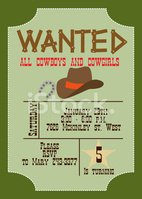 Cowboy,Wild West,Horseshoe,...