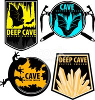 Cave,Crystal,Ice,Stone,Vect...