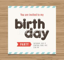 Invitation,Birthday,Greetin...
