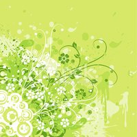 Floral Pattern,Vector,Dirty...