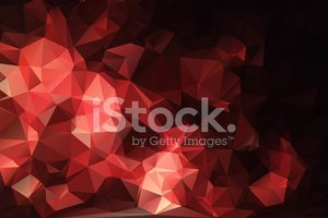 Red black abstract background polygon.