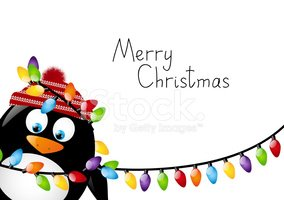 Christmas,Penguin,Cheerful,...