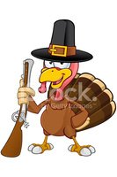 Turkey - Bird,Cartoon,Thank...