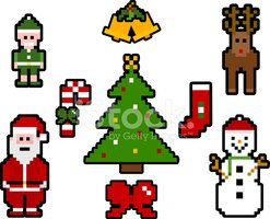 Pixelated,Reindeer,Chinese ...