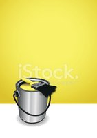 Can,Bucket,Paint,Yellow,Con...