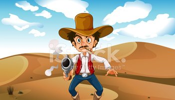 Cowboy,Brown,Hat,Scenics,Cr...