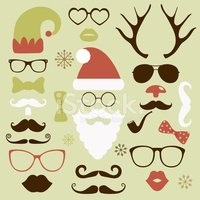 Santa Claus,Beard,Funky,Eye...