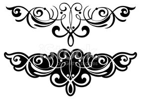 Ornate Tattoo Design Stock Vectors Clipartme
