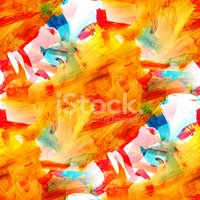 seamless texture picture abstract  orange watercolor background