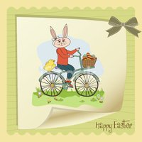 Easter Bunny,Sign,Nature,Ea...