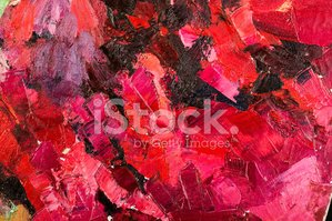 Oil Paint,Red,Bright,Brown,...