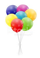 Balloon,Group of Objects,Pa...