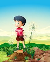 Plant,Child,Small,Nature,Bl...