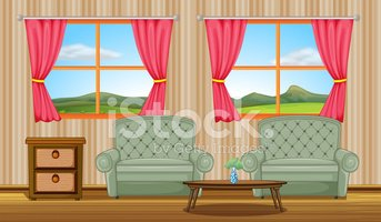Furniture,Plant,Side View,L...