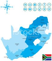 South Africa,Cartography,Ma...