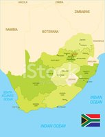 provinces,South Africa,Map,...