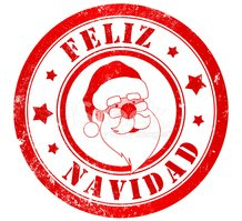 Rubber Stamp,Santa Claus,Sy...