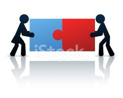 Two People,Jigsaw Piece,Tea...
