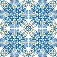 Ornate,Mosaic,Tile,Abstract...