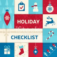 Checklist,Holiday,Letter,Ch...