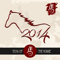 Chinese New Year,Horse,2014...