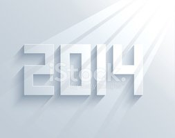 vector new year 2014 background. Eps10