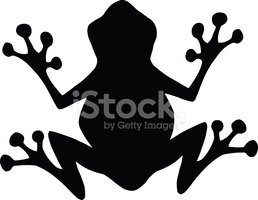 Silhouette Frog Illustration On White Background Royalty Free Cliparts,  Vectors, And Stock Illustration. Image 96618409.