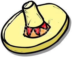 Sombrero,Mexico,Hat,Cartoon...