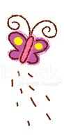 Clip Art,Insect,Crayon