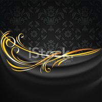 Black Color,Satin,Textured Ef…