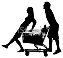 Groceries,Silhouette,Superm...