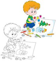 Coloring Book,Christmas,Chr...