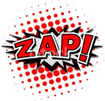 Zapping,Comic Book,Label,Ab...