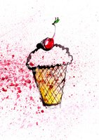 Ice Cream,Food,Sketch,Water...